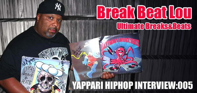 Break Beat Lou (UBB) インタビュー