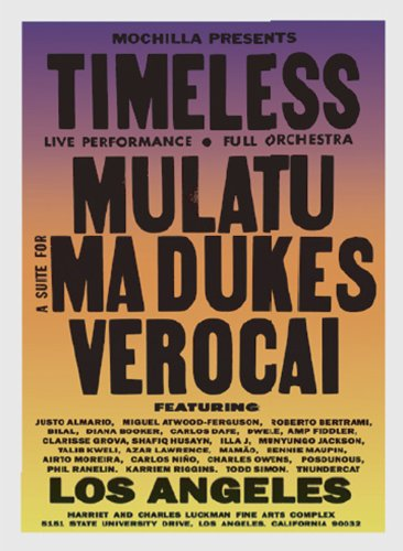 [DVD] MOCHILLA PRESENTS TIMELESS (SUITE FOR MA DUKES: J DILLA TRIBUTE / MULATU ASTATKE / ARTHUR VEROCAI)