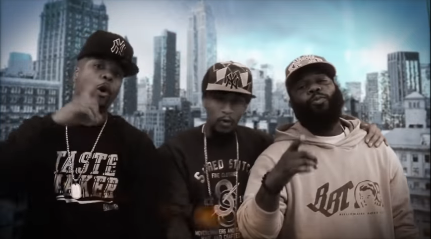 [Video] Pete Rock & Smif-N-Wessun ft Memphis Bleek / Top of the World