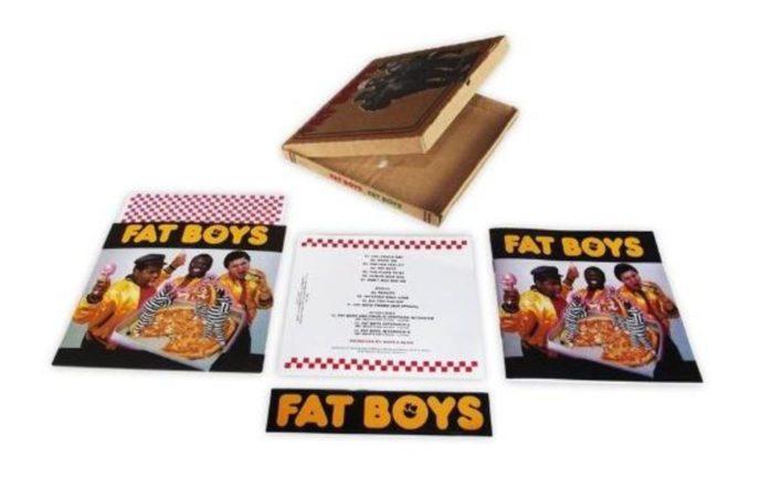 The Fat Boysのデビューアルバムがピザ箱パッケージで再発!