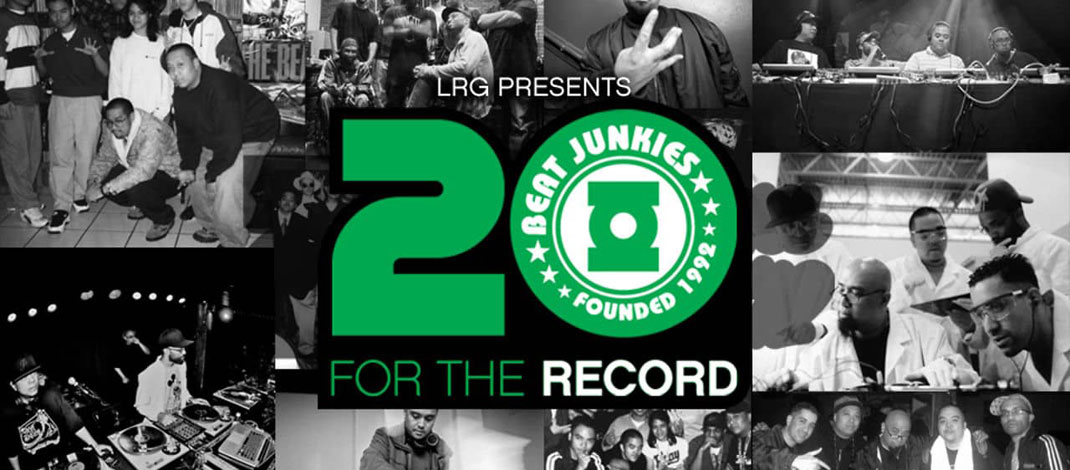 The Beat Junkies ドキュメンタリー映像「For The Record」公開!