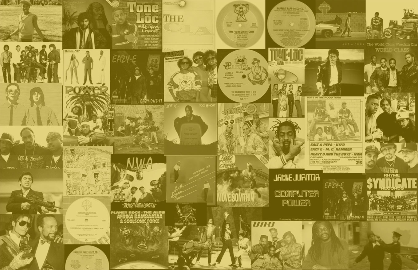 WEST COAST HIP HOP HISTORY年表(1980−1989)[改訂版]